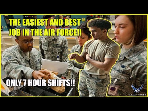 The Easiest And Best Job In The Air Force