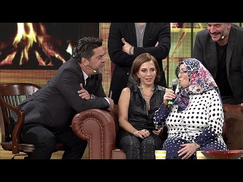 Beyaz Show- Soyguncuya Kök Söktüren Taksici Feride Teyze!
