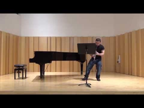 Oriol Codina Clarinet - B. Kovács - Hommage à Richard Strauss
