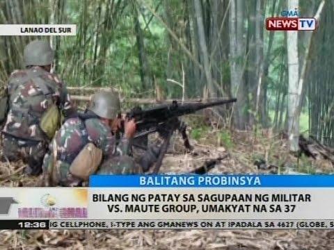 BT: Bilang ng patay sa sagupaan ng militar vs. Maute group, umakyat na sa 37