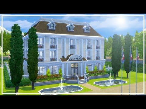 LUXURY HOTEL // The Sims 4: Speed Build