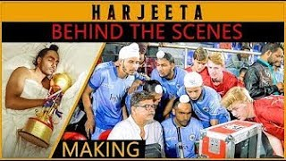 HARJEETA The Making || Behind The Scenes || Ammy Virk || Lokdhun