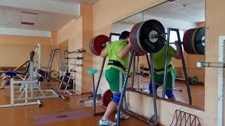 Aryamnov weightlifting Тренировка с полным погружением в процесс!!!