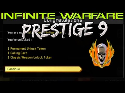 Kor3aYn Entering 9th Prestige in Infinite Warfare (SKIP TO END!) - 1 MORE PRESTIGE TO GO!
