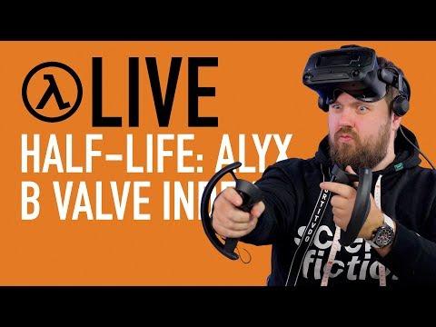 Играем в Half-Life: Alyx с Valve Index