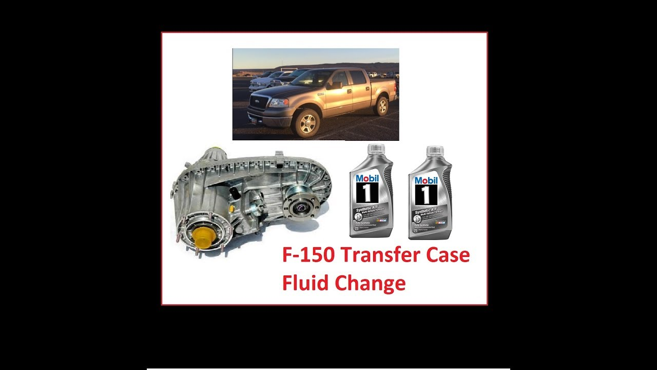 2004 ford f150 transfer case fluid type