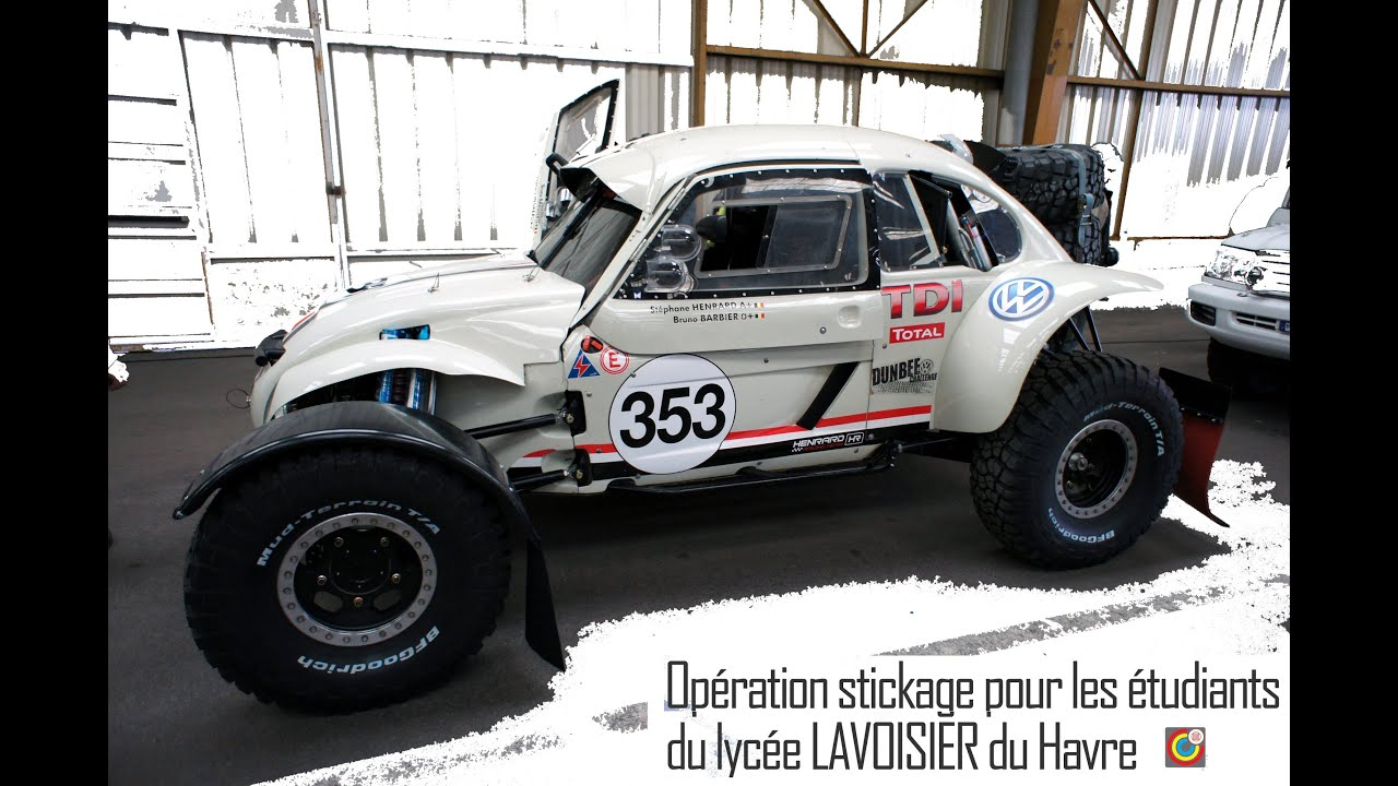 dakar 2015 race car le havre youtube. Black Bedroom Furniture Sets. Home Design Ideas