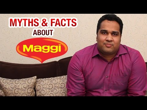 Dr Ramakrishna Revealing The Myths & Facts About Maggi | Online Health Tips