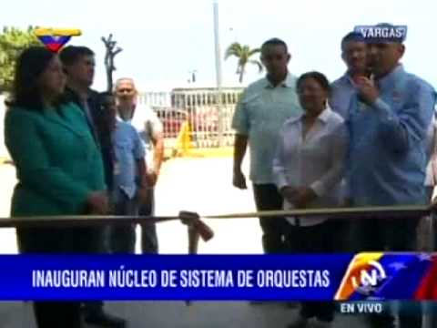 Inauguración núcleo Armando Reverón