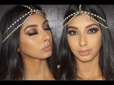 Arab Inspired Cat Eye Makeup Tutorial | Kylie Cosmetics Dolce K