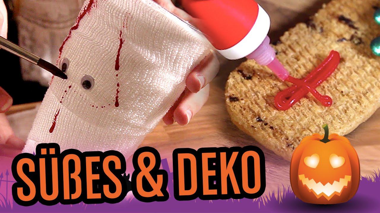 halloween snacks und dekoideen f r deine perfekte party youtube. Black Bedroom Furniture Sets. Home Design Ideas