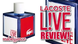 Live by Lacoste Fragrance / Cologne Review