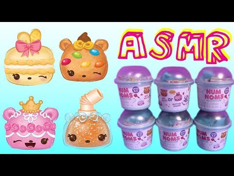 Num Noms Series 4 ASMR Surprise Blind Bag Cups Mystery Lipgloss Nail Polish Kids Toys Collection