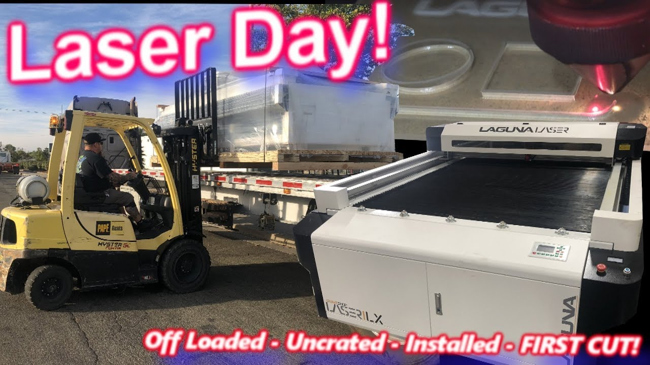 laser-day-new-laguna-4x8-smartshop-ilx-cnc-arrives-offloaded-uncrated-installed-and-first-cut
