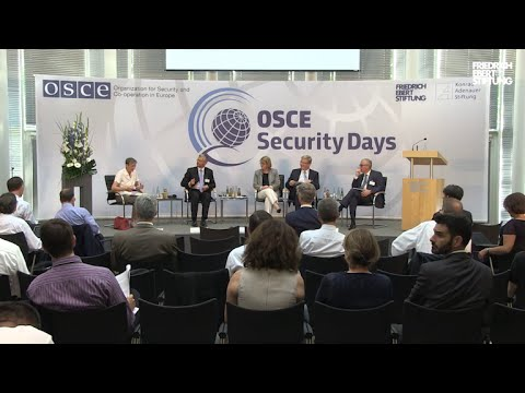 Security Days in Berlin: Reviving Co-operative Security in the OSCE Area
