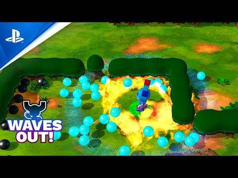 Waves Out - Gameplay Tráiler PS4 PlayStation Talents | PlayStation España