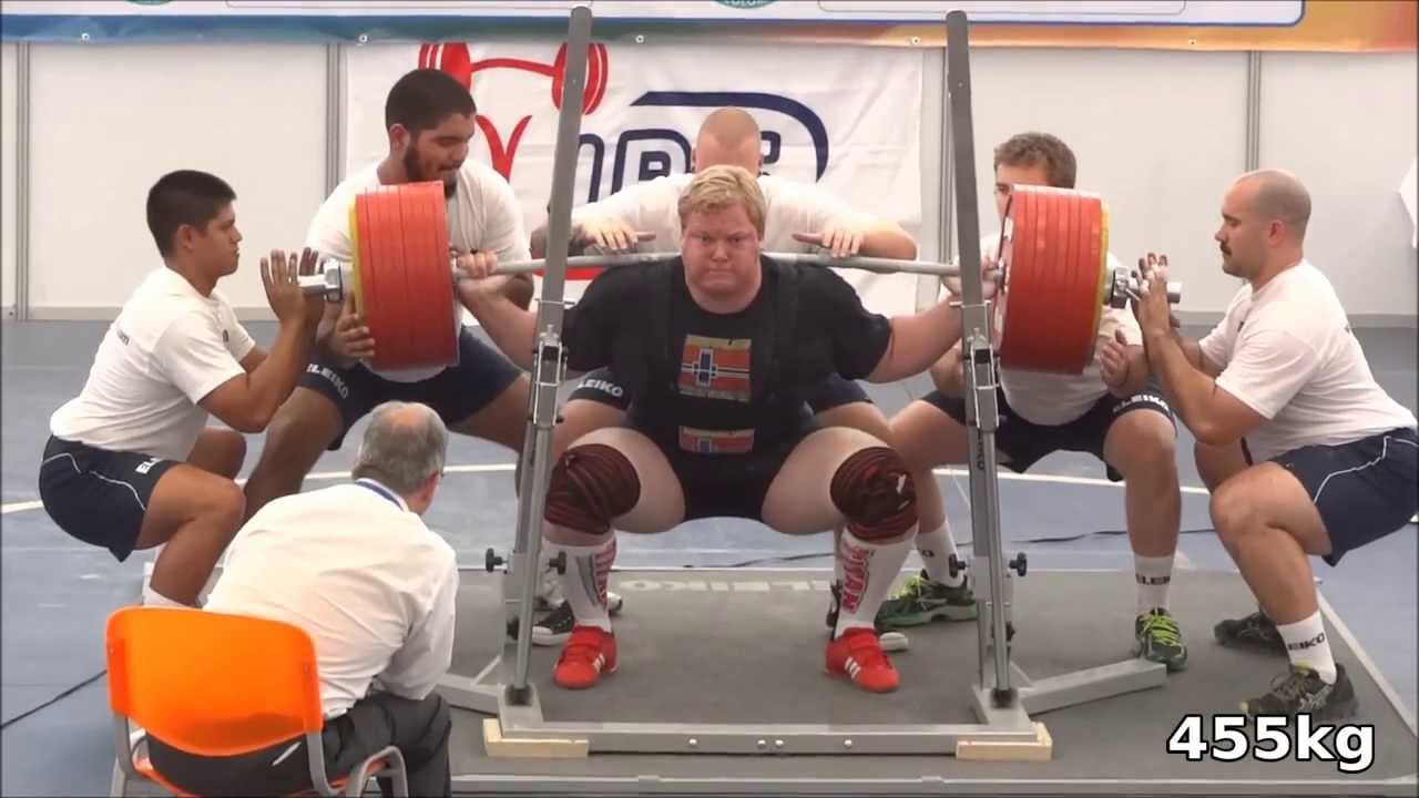 Carl Yngvar Christensen 1140kg / 2513lbs total - 3.place ...