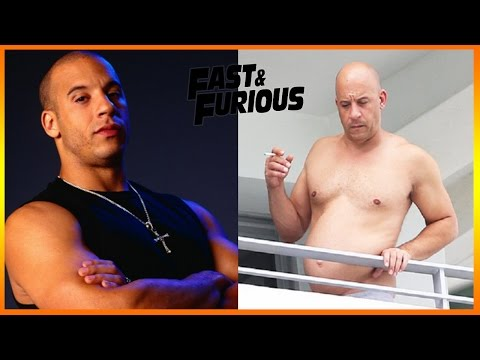 Fast and Furious 8 les Acteurs Célèbres Avant et Après! Fate of Furious before and after