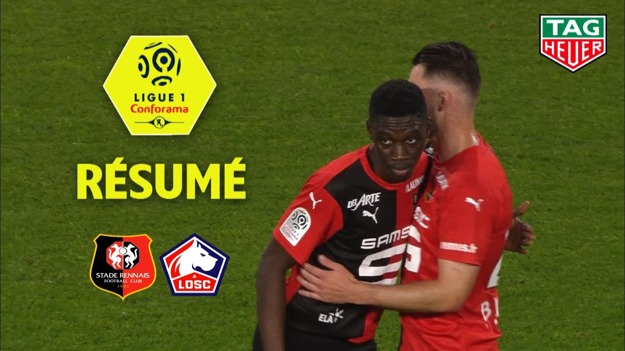 Stade Rennais FC - LOSC ( 3-1 ) - Résumé - (SRFC - LOSC) / 2018-19