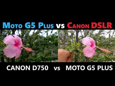 MOTO G5 PLUS vs DSLR CAMERA Review