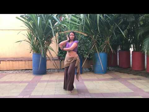 Endhira Logathu Sundariye | 2.0 | Ramya Rao | Sword Bellydance Practice |
