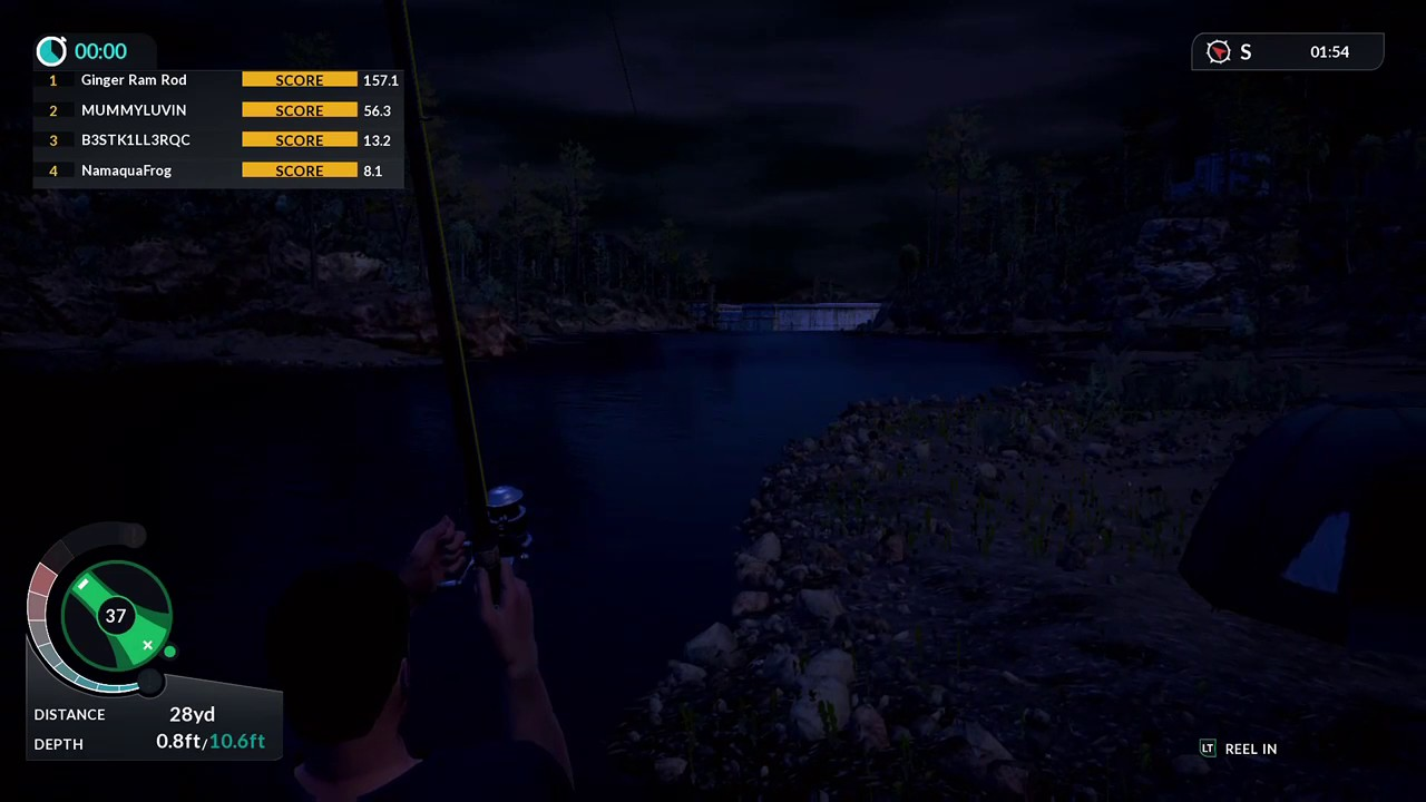 Xbox one euro fishing best fishing game footage from a for Xbox one fishing games