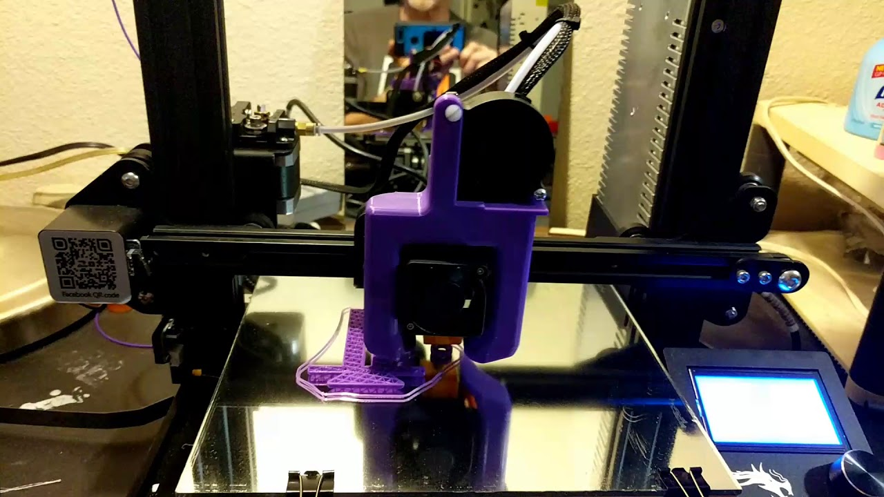 Petsfang cooler mod on the Ender 3 printer
