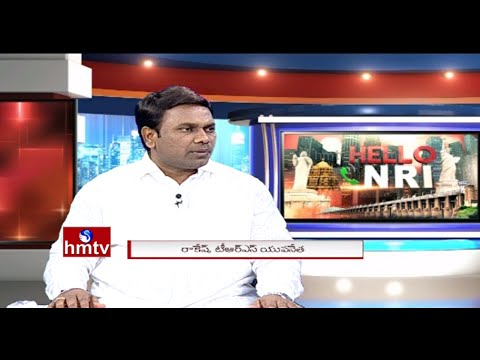 TRS Leader Rakesh Exclusive Interview on TRS Sweeps GHMC Elections | Hello NRI | HMTV