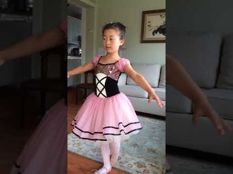 Ella tryout for 2018 Monticello Academy Talent Show