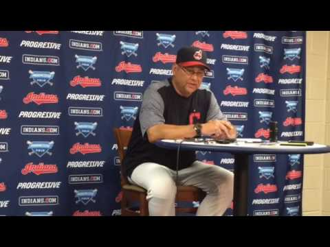 Indians Terry Francona on pinch-hitter Lonnie Chisenhall