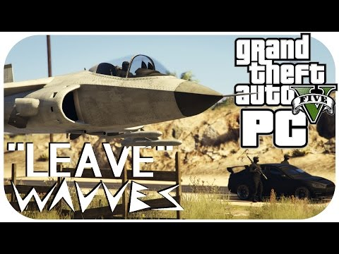 Leave - Wavves | Official GTA 5 Music Video for #Leave | 60 FPS