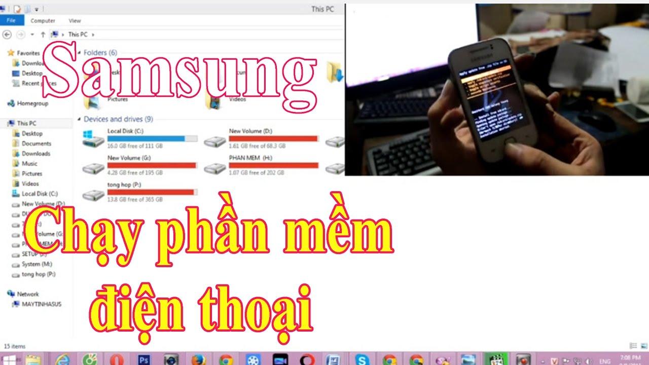 Hướng dẫn reset chạy lại phần mềm điện thoại Samsung GT S5360
