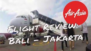 Air Asia Flight Review: Bali - Jakarta
