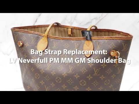 DIY Bag Strap Replacement Kit: LV Neverfull PM MM GM Shoulder Bag