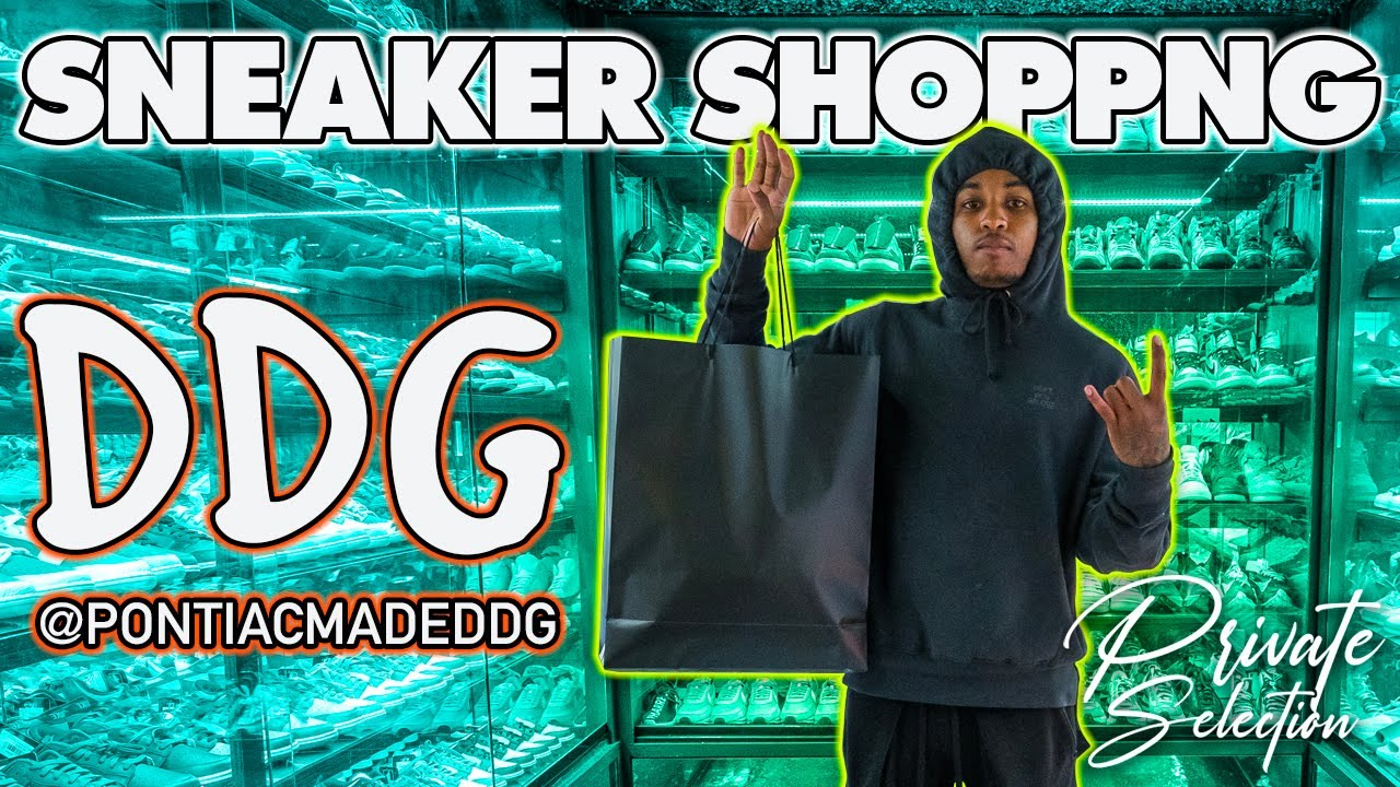DDG GOES SNEAKER SHOPPING AT PRIVATE SELECTION