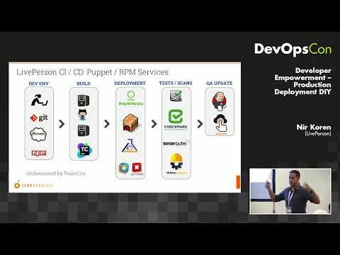 Developer Empowerment – Production Deployment DIY