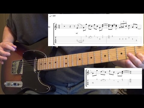 Frankie Ballard - Young and Crazy - Guitar Lesson with Tabs