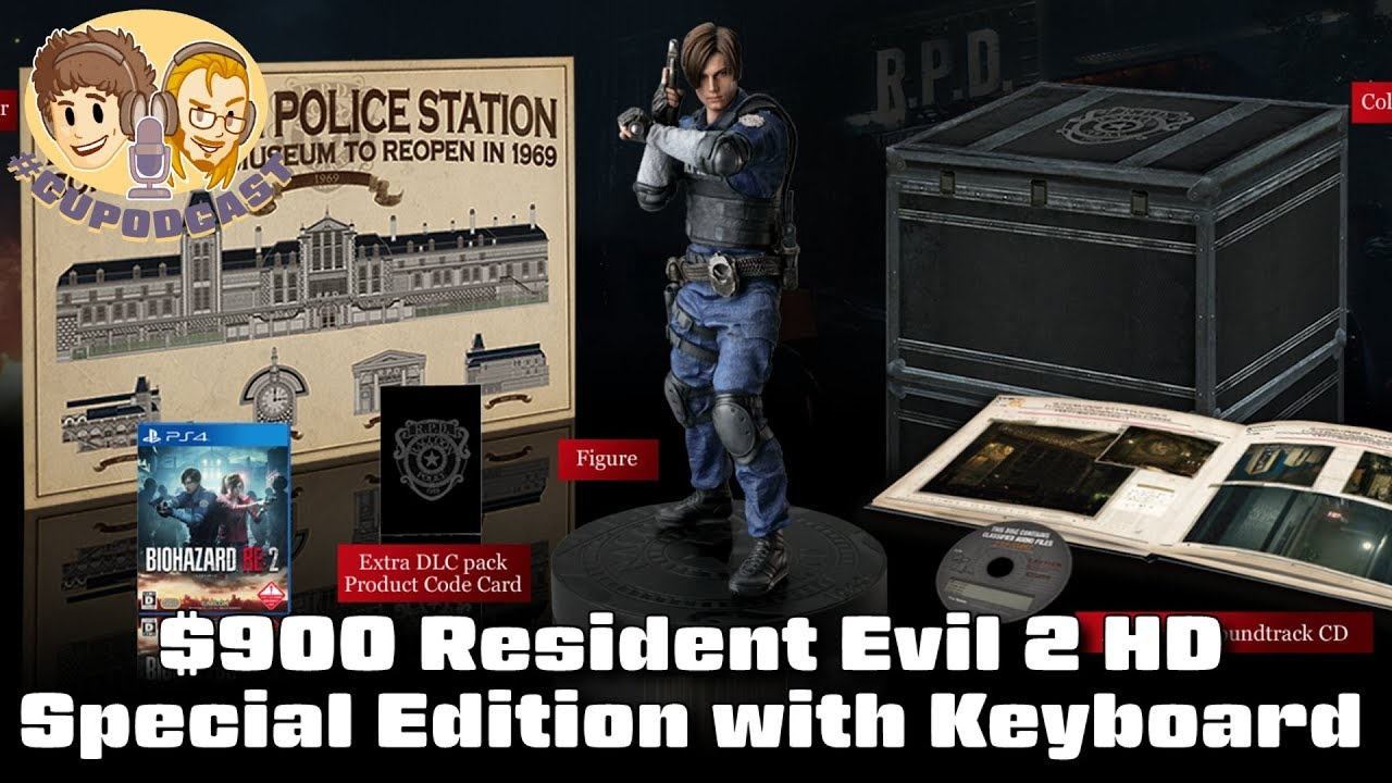 $900 Resident Evil 2 Remake Special Edition with Keyboard - #CUPodcast