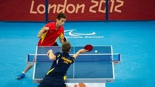 Table Tennis highlights - London 2012 Paralympic Games