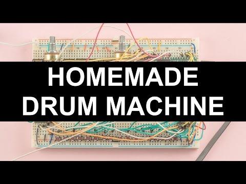 Homemade Drum Machine