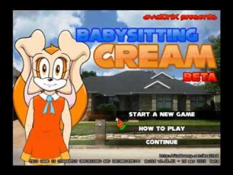 Babysitting cream camera