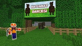 İŞÇİ HAYVANAT BAHÇESİ YAPIYOR! 🐘🦁 - Minecraft