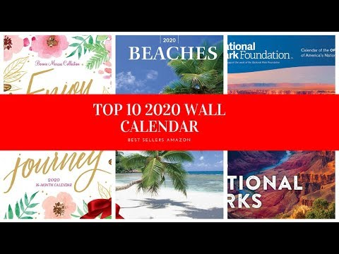 ✔️-top-10-2020-wall-calendar-🛒-amazon-2020