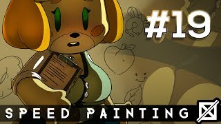 Video Rule 34 Isabelle from Animal Crossing! (SPEED PAINTING # 19) download MP3, 3GP, MP4, WEBM, AVI, FLV Juni 2018
