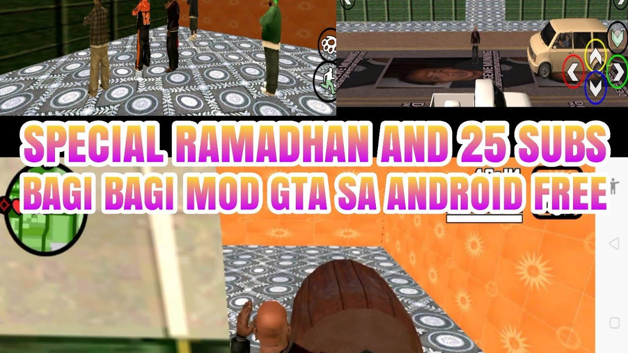 71 Mod Mobil Takbiran Gta Sa Android HD