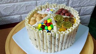 Subukan mo eto Dessert o Negosyo? Panalong Panalo Sa Kita at Sarap  l No Bake Birthday Cake Recipe