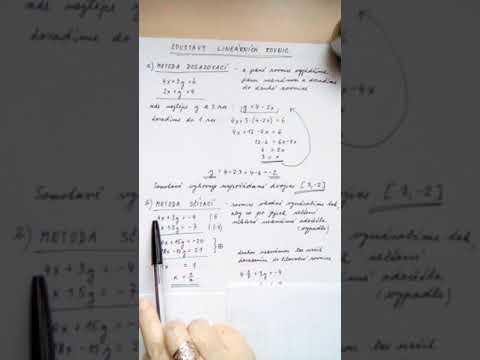 Soustavy dvou rovnic