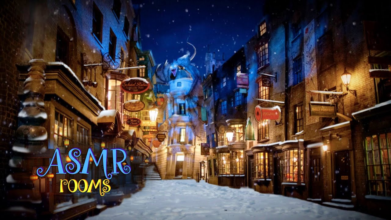Harry Potter Asmr Diagon Alley Ambient Sound White