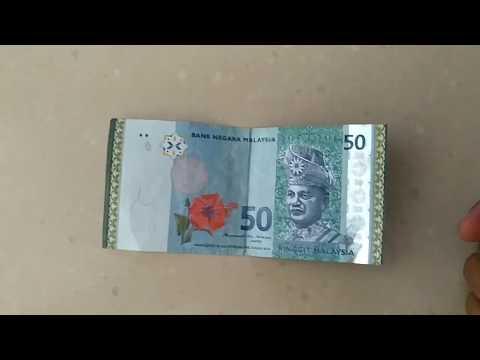 Mata Uang Malaysia 50 Ringgit (MYR) #malaysiaringgit