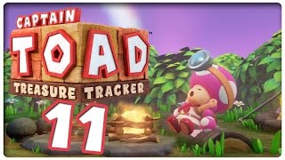Let's Play CAPTAIN TOAD: TREASURE TRACKER Part 11: Camping im Wald